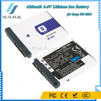 620mAh 3.6V Lithium Ion Battery NP-BD1 for Sony