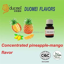 Concentrated pineapple-mango liquid flavor for ice cream,beverage and candy.