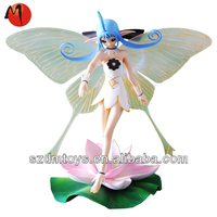 3d game character elf figure