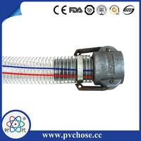 PVC Machine Making Spring Food Grade Steel Wire Hose made in China