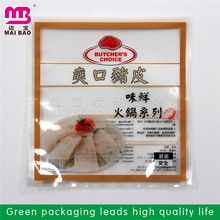 leading manufacturer made plastic vacuum pouches for food packaging