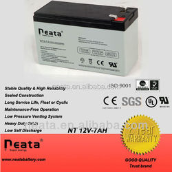 4v 6v 12v 7ah sealed lead acid battery