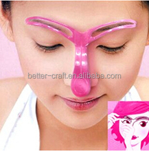 Plastic DIY Shaping Eyebrow Template/Stencil Makeup Grooming Tool