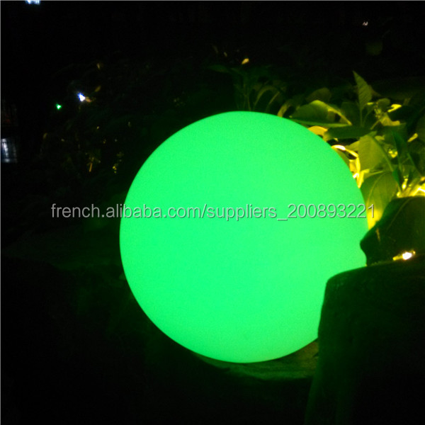 Boule eclairage exterieur clairage led maison lampe de for Sphere led exterieur