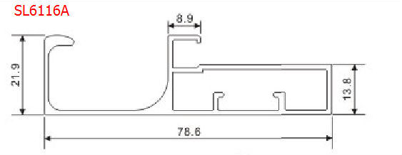 aluminiumprofil f r k chenschrank glast r profil aluminiumprofil produkt id 520586791 german. Black Bedroom Furniture Sets. Home Design Ideas