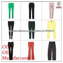 damas pantalones fabricante