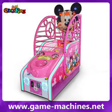 New & hot Coin Operated Sport / Redemption Children Basketball Game Machine funny Basketball