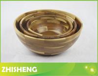 WSB-06 wood bowls, 3-pieces wood sald bowl set, acaica wood salad bowl