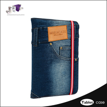 Wholesale Leather Jean Case Cover For Ipad 2 Vintage