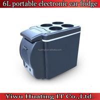 Mini Car Fridge Portable Car Refrigerator 6L,cooling & warming car and home refrigerator