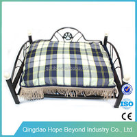 Antique wrought iron bed luxury pet dog bed wholesale