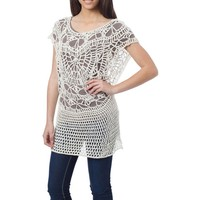 Wholesale Crochet Clothing Fashion Korean Sexy Clothes for Ladies Yarn Top