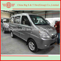 fashionable 45KW mini bus China van multi-purpose with air conditioning