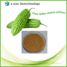 Natural bitter melon powder in herbal extract