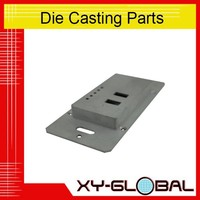 Powder coating aluminum alloy ADC12 die casting LED street lamp cover lighting accessories