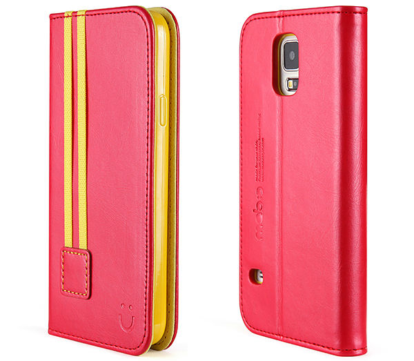 Smart Phone Leather Flip Case Cover for Samsung Galaxy S5 i9600