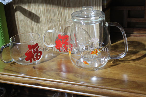 Good design Chinese tea accessories, small glass tea cups