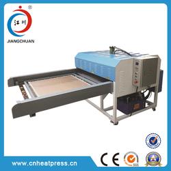 Large format hydraulic/pneumatic sublimation heat transfer printing machine