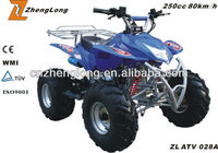 fast double drum brake electric with 4x4 110cc atv