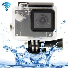 HD 1080P WIFI Waterproof Sports Camcorder with 150 Degrees Wide Angle 30m Waterproof