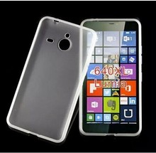 TPU flexible Matte soft gel case for Nokia Lumia 640 XL fashion waterproof mobile phone case