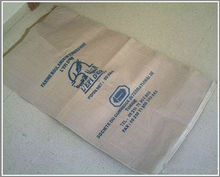 pp weaving coated kraft paper layer inside, paper pasted cement bags