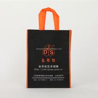 (TWS7001) wholesale Environmental pictures silk screen printing non woven shopping bag