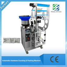 Semi Automatic Counting Screw Nut Packaging machine