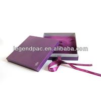 Luxury silk box wedding invitations wholesale chinese manufacturer