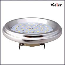 aluminum 5W led ar111 ceiling light