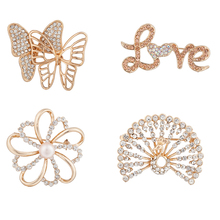 Buy cheap new charming butterfly muslim hijab pins from China in bulk