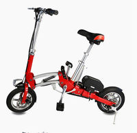 China Kids Adults Mini Folding Electric Bike Folding Electric Bike foldable eletric bike