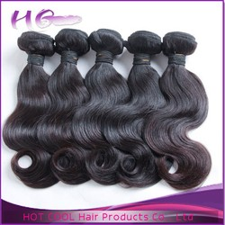 "Large stock 8""-34"" top quality virgin human hair extension HotCool professional hair color brand names"