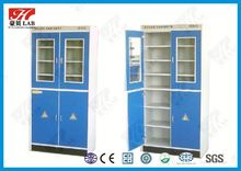 Cheap lab furniture goods from China factory high quality biological reagent bottle cabinet unit in Guangzhou