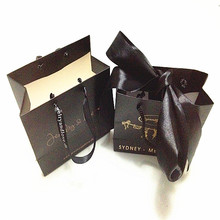 Suits Shopping Paper Bag ,Custom shaped lady's Bag ,High Quality OEM Design Packaging bags with Your Own Logo