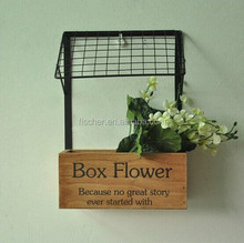 House Shaped Wooden Box .Retro Vintage Wood Home Decor Storage Container Box Case .Micro landscape flower pot.