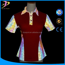 High Visible Color Rainbow Reflective Printed Fabric for Safety and fashion