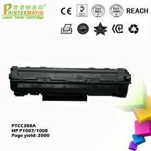 Competitive Price Laserjet P1008 Cartridge Compatible Printer Toner CC388A FOR HP P1007 / P1008 (PTCC388A)