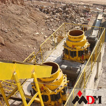Shanghai crusher cone 150 tph low cost for sale in china with CE ISO