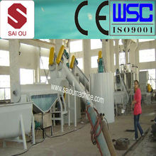 waste plastic bottles recycling line - pet