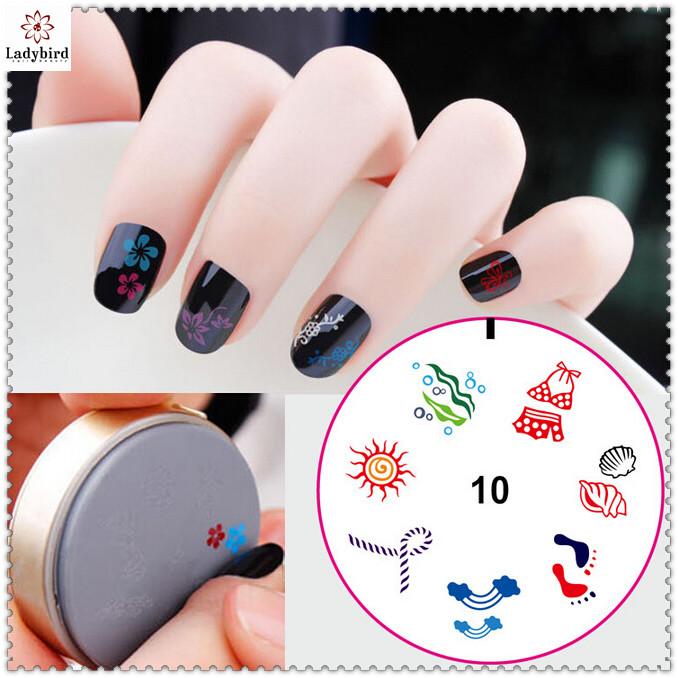 Ladybird Stamping Nail Art Kitsnail Art Stamp Plate Buy Nail