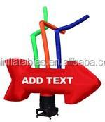2014 new design Custom Giant Arrow Inflatable/advertising inflatable air dancer,single leg advertising inflatable sky dancer