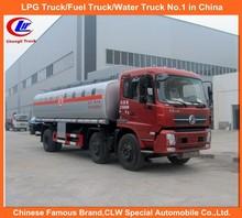 usato camion cisterna di carburante dongfeng serbatoio del carburante camion 6x2 carburante per il trasporto camion