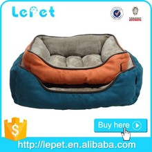 wholesale pet products soft cozy luxury rectangle luxury pet dog beds