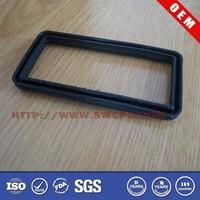 Auto glass rubber seal