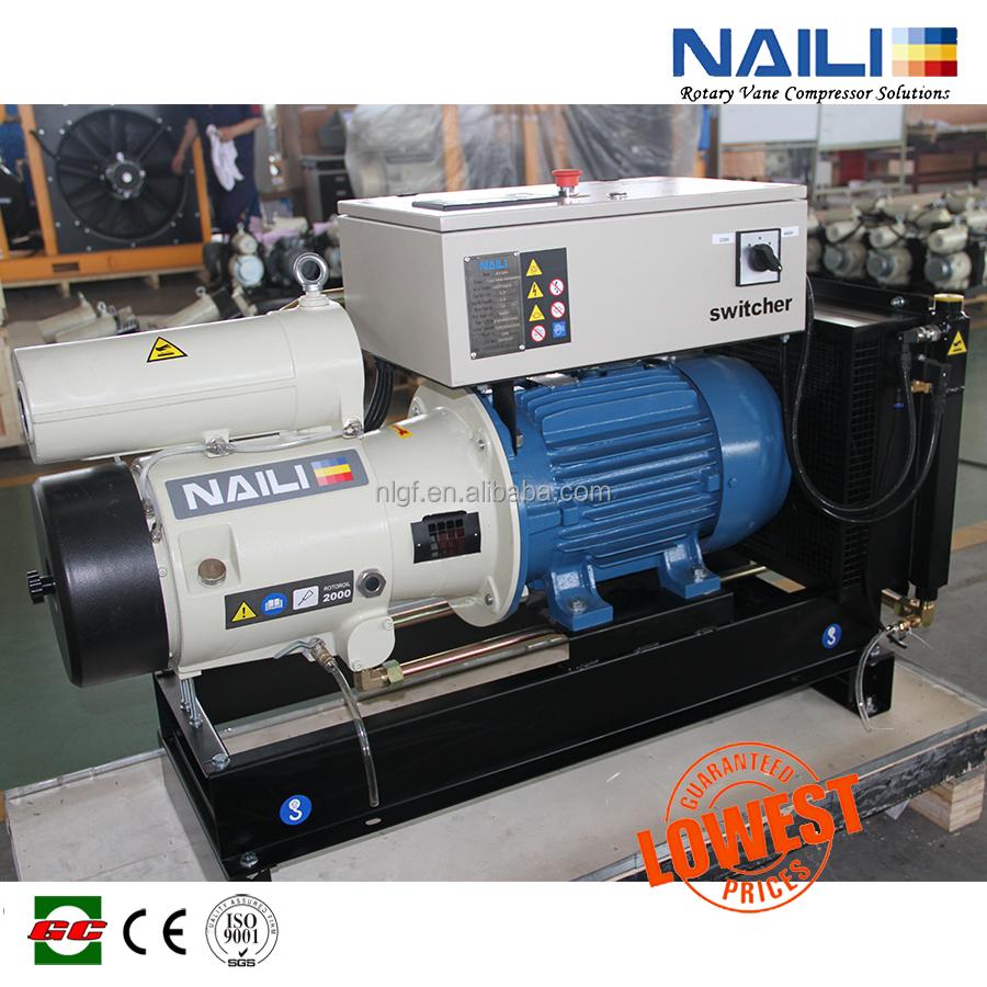Ac Power Electric Motor 11kw Air Compressor Naili Rotary