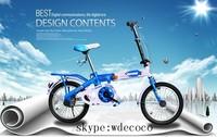 Child 1-3 years Age kids foldable bike