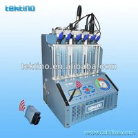 Best quality! Tektino C-501 Ultrasonic Fuel Injector Cleaning & Testing Equipment CE certificate
