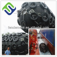 Size D2.5*L5.5(m) floating pneumatic rubber fender, marina fender