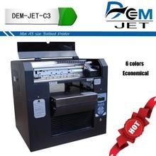 A3 aluminum plate printer A3 solvent printer A3 flatbed printer Highest resolution